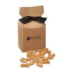Extra Fancy Jumbo Cashews in Kraft Premium Delights Gift Box