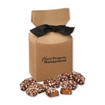 English Butter Toffee in Kraft Premium Delights Gift Box