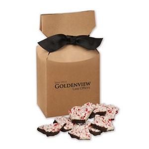 Peppermint Bark in Kraft Premium Delights Gift Box