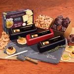 Genuine Slate Cheese Plate with Party Favorites-Shelf Stable
