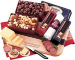 Shelf-Stable Party Starter Cheese Gift Set with Logo Cheese Board