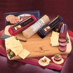 Shelf-Stable Wisconsin Variety Package - Cheeses, Summer Sausage, Board