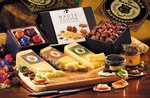 International Gourmet Cheese Assortment / Bamboo Cutting Board