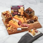 A Great Impression Cheese Assortment with Branded Cutting Board