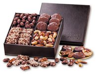 Faux Leather Gift Box of President's Choice Chocolates and Nuts