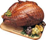 Smoked Whole Turkey with Walnut & Maple Cutting Board
