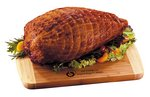 Smoked Turkey Breast with Walnut & Maple Cutting Board