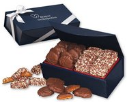 English Butter Toffee & Pecan Turtles in Magnetic Gift Box