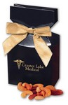 Deluxe Mixed Nuts in Navy Gift Box with Logo