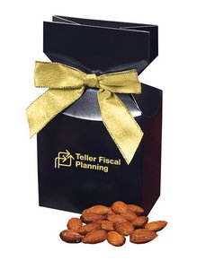 Mediterranean Style Almonds in Navy Gift Box with Logo