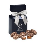 English Butter Toffee in Navy Gift Box with Logo