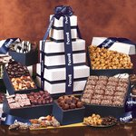 The Park Avenue Ultimate Tower of Treats in Navy - FREE Shipping