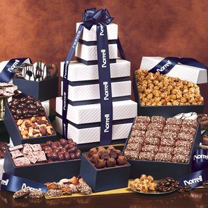 The Park Avenue Ultimate Tower of Treats in Navy