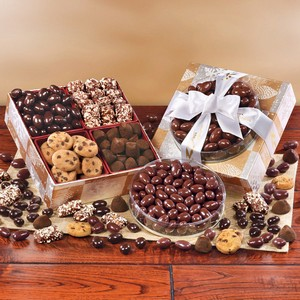 Elegant Traditions Cookie and Chocolates Gift Box