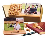 Jumbo Cashews with Hardwood & Acrylic Photo Frame