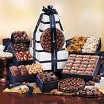 Silver & Navy Executive Gourmet Tower