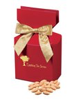 Choice Virginia Peanuts in Red Gift Box with Your Logo