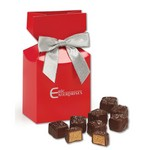 Chocolate Peanut Butter Meltaways in Premium Delights Gift Box