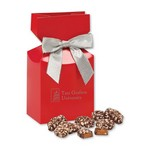 English Butter Toffee in Red Gift Box with Your Logo
