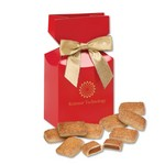 Cinnamon Churro Toffee in Red Premium Delights Gift Box