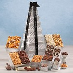 Silver Delights Giant Party Tower