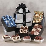 Individually-Wrapped Chocolate Heaven Gift Tower