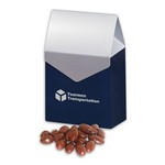Chocolate Covered Almonds in Gable Top Gift Box