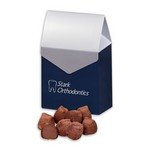 Cocoa Dusted Truffles in Gable Top Gift Box