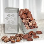 Toffee and Turtles in Snowflake Gift Box