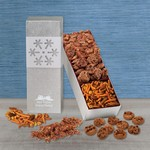 Silver Snowflake Trio - Cookies, Pralines and Snack Mix