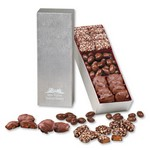 Silver Snack Trio Pecan Turtles, English Butter Toffee & Chocolate Covered Almonds