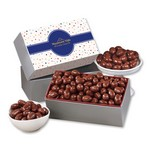 Chocolate Covered Almonds with Bubbles Sleeve