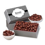 Chocolate Covered Almonds with Weave Sleeve