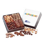 Gourmet Holiday Gift Box with Happy Holidays Sleeve