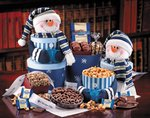 Deluxe Snowman Sampler Gift Tower