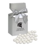 Chocolate Gourmet Mints in Silver Premium Delights Gift Box