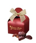 Pecan Turtles in Red Gift Box with Your Logo