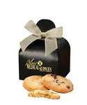 Fresh Baked Cookies Black Gift Box with Your Logo