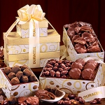 Sweet Temptations Tower - Gift Basket Tower