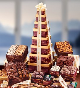 Giant Towering Heights Tower - Gift Basket Tower
