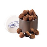 Cocoa Dusted Truffles in Designer Tin