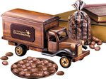 1950's Delivery Truck with Chocolate Covered Almonds