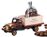 1950's Flat Bed Truck with Chocolate Covered Almonds