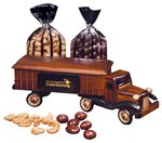 1950s Tractor Trailer Truck with Chocolate Almonds & Cashews
