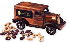 1938 Delivery Van with Chocolate Almonds & Jumbo Cashews