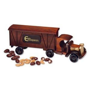 1920 Tractor-Trailer Truck with Chocolate Almonds & Extra Fancy J