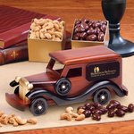 1930-Era Delivery Van with Chocolate Almonds and Extra Fancy Jumbo
