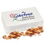 Deluxe Mixed Nuts in White Gift Box