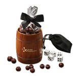 Classic Whiskey Barrel Cup with Barrel-Aged Bourbon Cordials