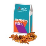 Spicy Pub Mix in Gable Top Gift Box with Full Color Imprint